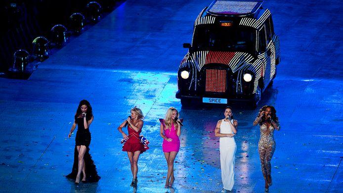 The Spice Girls traden ook op tijdens de slotceremonie van de Olympische Spelen in Londen in 2012.