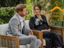 Meghan draagt dramatische jurk mét boodschap bij interview met Oprah