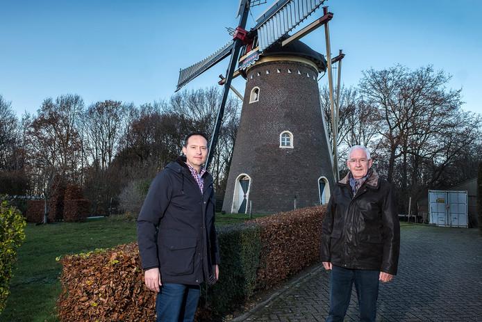 Hein Pijnappel (links) en Henny Willemsen