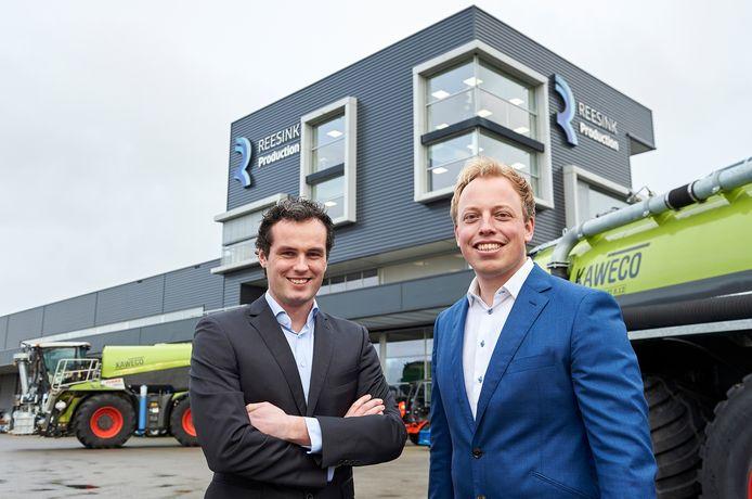 Patrik Roelofs (l) en Rens Veeneman (r), de nieuwe tweekoppige directie van Reesink Production.