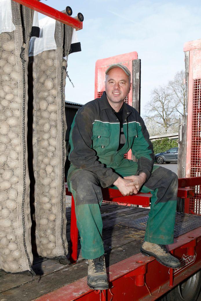 Biologisch-dynamische akkerbouwer André Jurrius uit Randwijk.