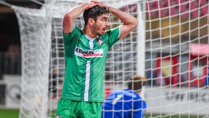 FC Dordrecht laat tegen MVV de kansen onbenut en verliest wéér: 'Hebben bewezen dat we veel te laag staan'