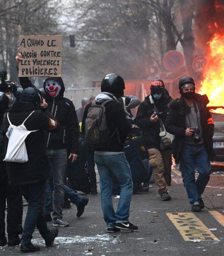 Rellen bij demonstraties tegen politiegeweld in Parijs