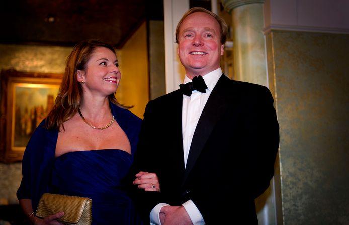 Prins Carlos en prinses Annemarie