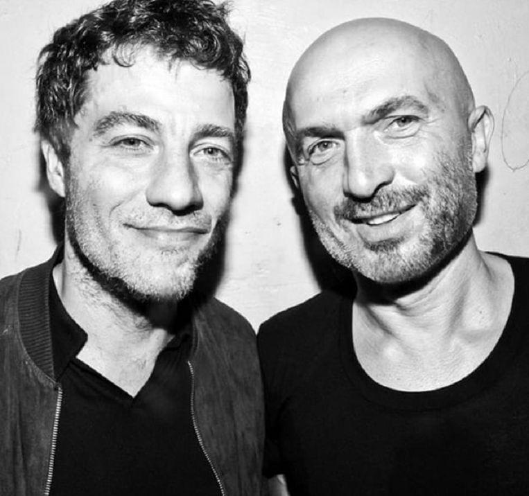 Philippe 'Zdar' Cerboneschi (links). Beeld Instagram @cassius
