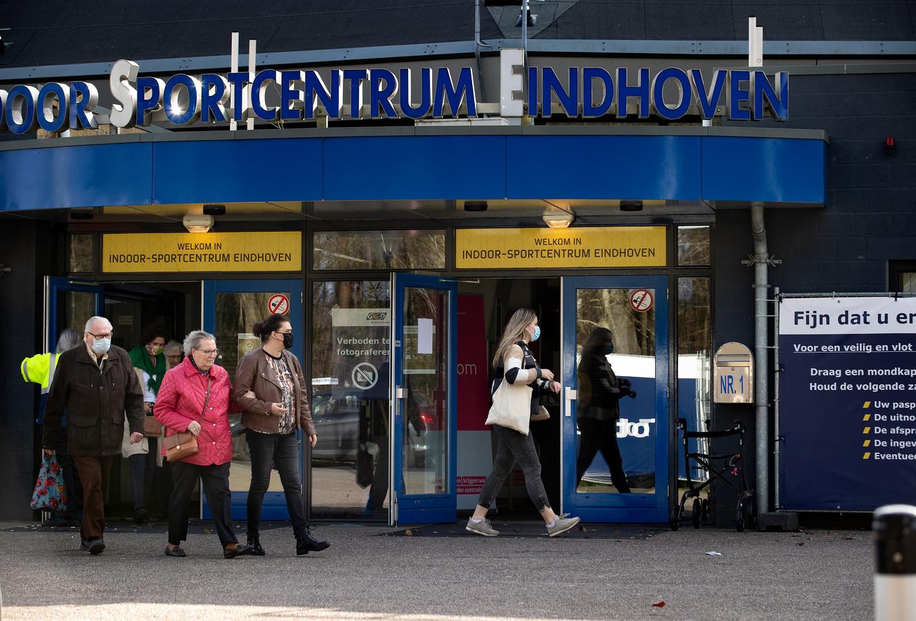 De priklocatie van de GGD Brabant Zuidoost in Eindhoven.