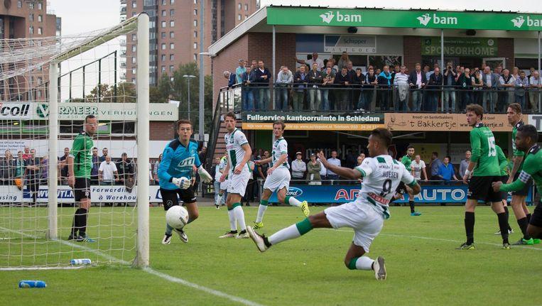 Groningen tegen Capelle Beeld Anp