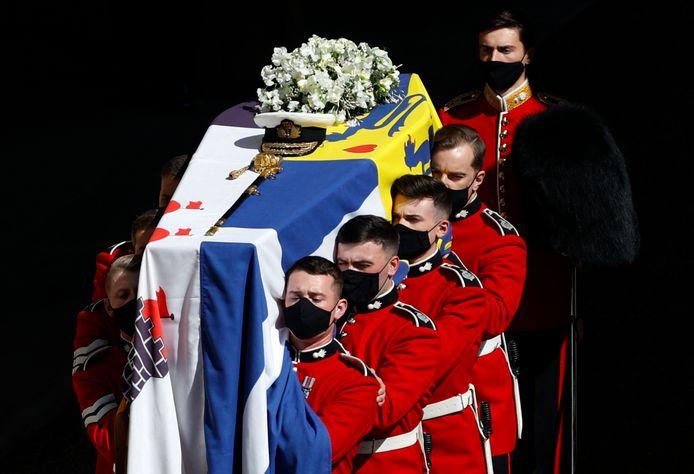 De begrafenis van prins Philip trok een half miljoen kijkers.