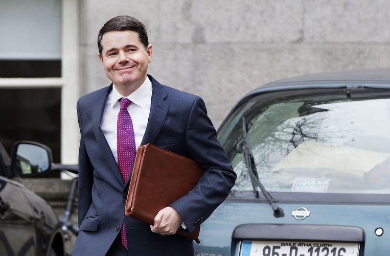Archiefbeeld. De Ierse minister van Financiën Paschal Donohoe is de nieuwe voorzitter van de eurogroep