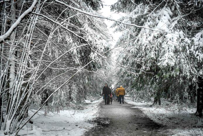 Le sud du pays se couvrrira à nouveau d'un manteau blanc ce week-end