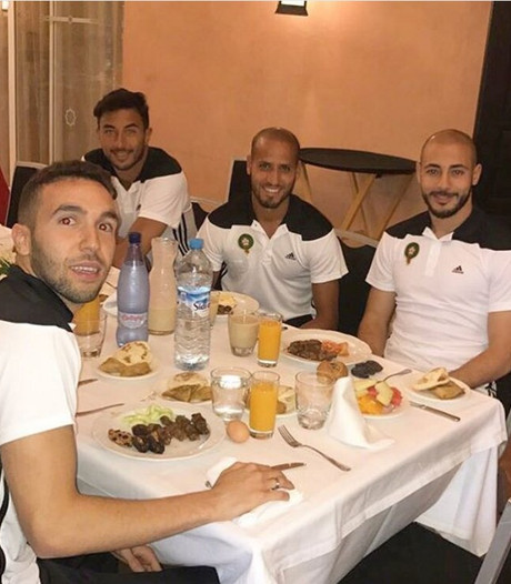 Aangepaste training Marokko vanwege ramadan