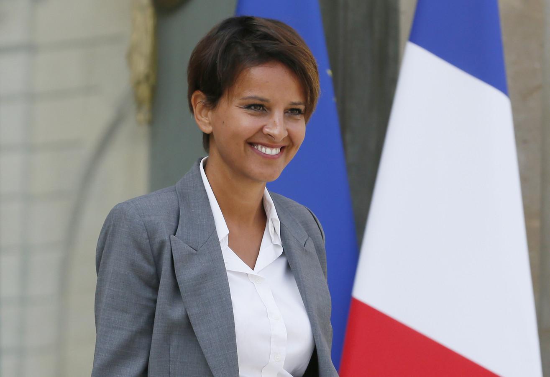 À 36 ans, Najat Vallaud-Belkacem connaît une ascension fulgurante.