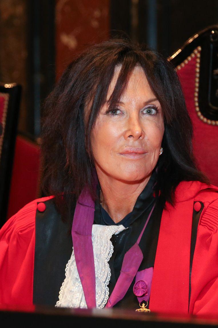 Assisenvoorzitter Karin Gerard.