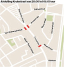Afsluiting van de Kruisstraat
