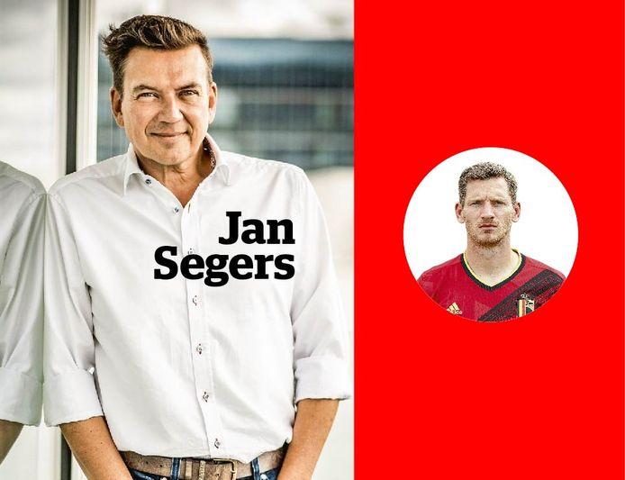 Jan Segers (links) en Jan Vertonghen.