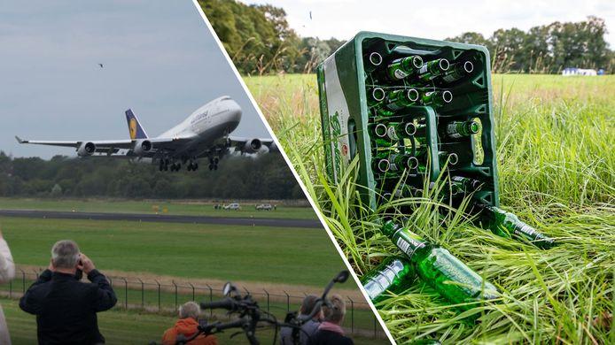 Maandag 20 september vertrok de laatste Lufthanse-Boeing van Twente Airport en blijkt dat Tukkers stevige drinkers zijn.