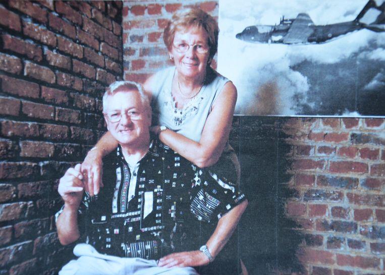 William en Lydia uit Welle bij hun 45ste huwelijksverjaardag.