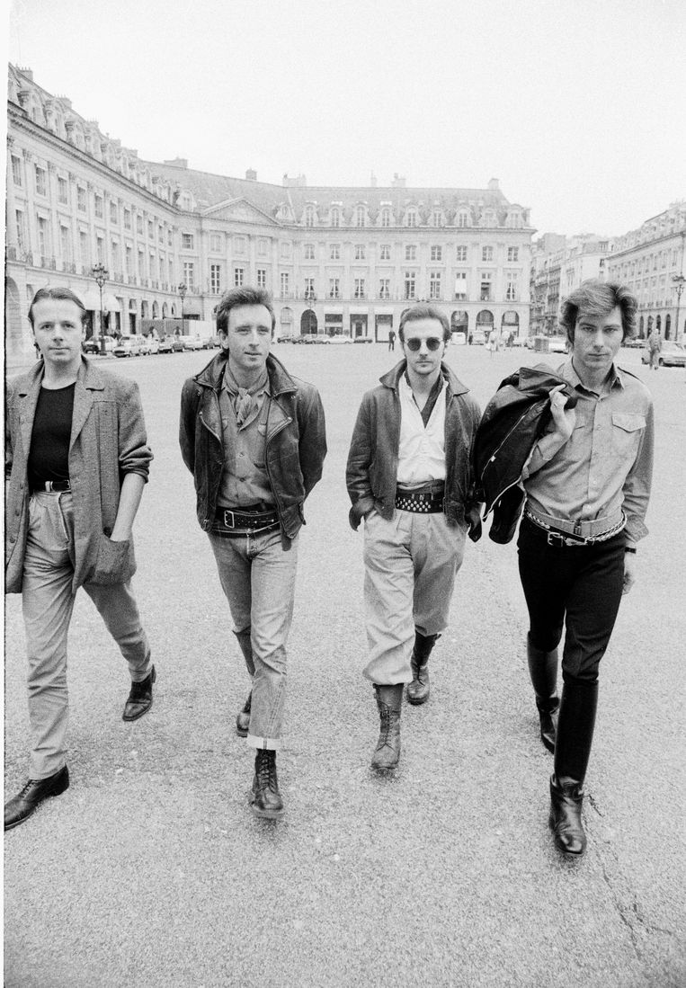 Ultravox in Parijs in 1982. Beeld Getty