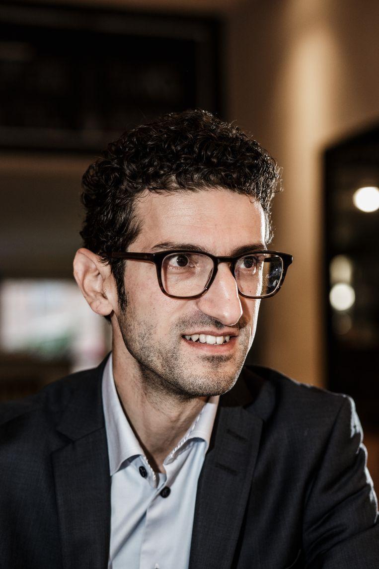 Mohamed Ridouani (sp.a). Beeld Bob Van Mol