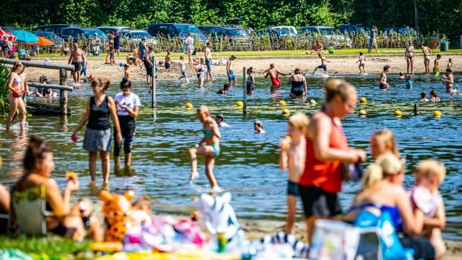 Zwemmen in Plas Merwelanden is weer veilig
