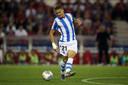 Martin Ødegaard in actie namens Real Sociedad.