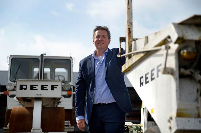 Edwin Oostinga, directeur van Reef Infra.