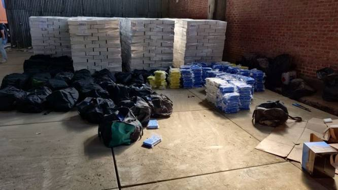 Tot 8 jaar cel voor invoer 4,2 ton cocaïne in lading inktvis; opdrachtgevers in Nederland vrijgelaten