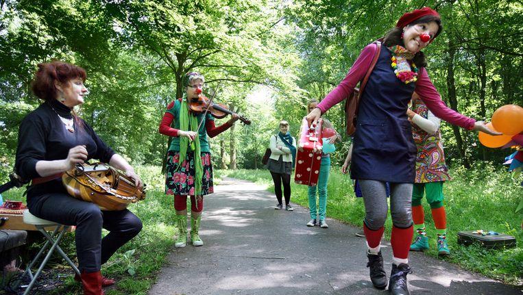 De camping bestaat dit jaar 100 jaar en dat werd afgelopen zomer gevierd met diverse activiteiten. Beeld Jean-Pierre Jans / www.jeanpierrejans.nl