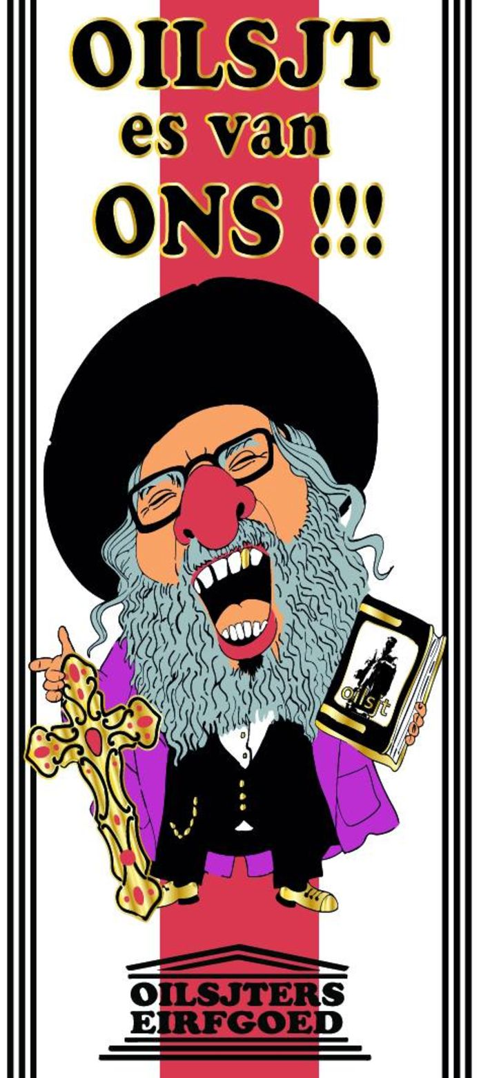 Carnavalisten lachen met Unesco en de joden.