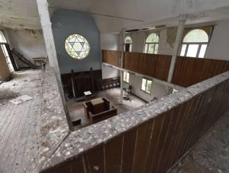 Eindelijk is redding nabij voor vervallen synagoge
