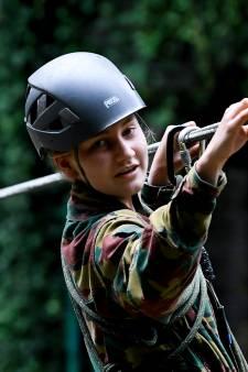 La princesse Elisabeth achève son année à l'École militaire par un stage commando à Marche-les-Dames
