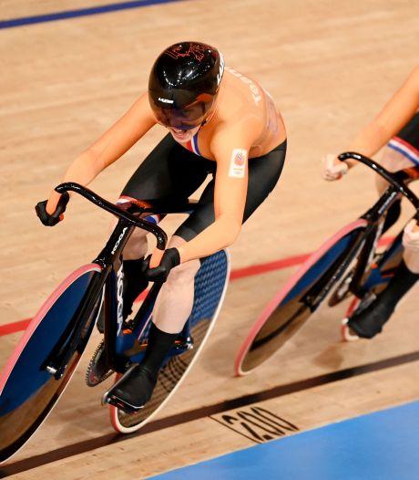 Braspennincx en Van Riessen grijpen net naast brons op teamsprint