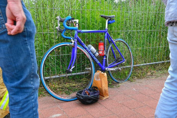 Wielrenner zwaargewond na ongeval in Bergeijk.