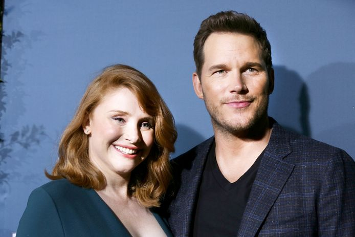 Chris Pratt en Bryce Dallas Howard.