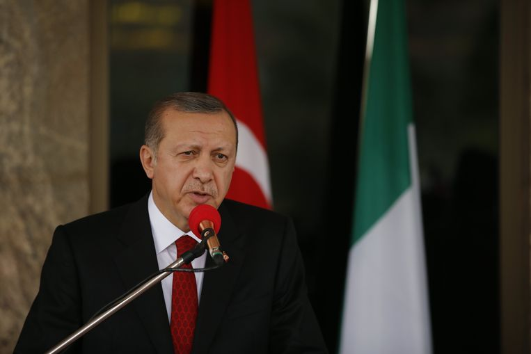 President Erdogan. Beeld Photo News