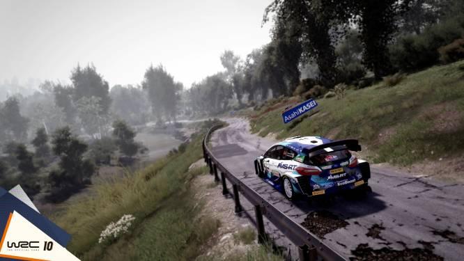 """""""Rij zelf virtueel de Kemmelberg op"""": Renties Ypres Rally opgenomen in nieuwe versie van videogame WRC 10"""