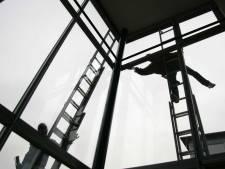 Glazenwassers bedreigen tv-makers in Vathorst