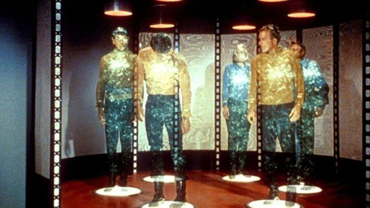 Transportatie in 'Star Trek'. Beeld