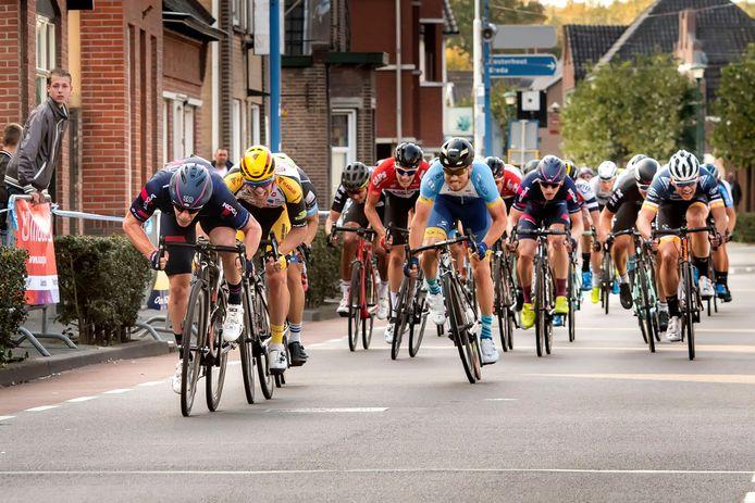 De Ronde van midden brabant. Alberto Dainese wint.