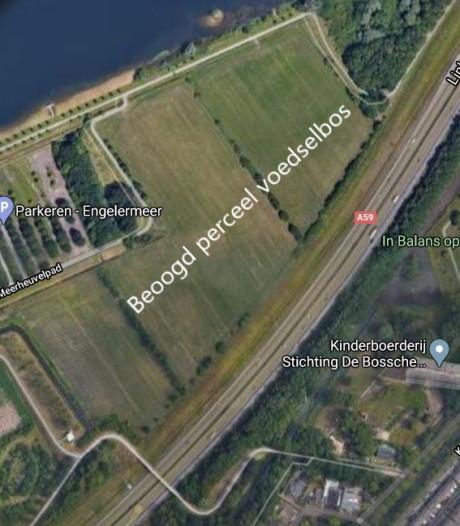 Voedselbos Den Bosch verkast; even geen rekening gehouden met linie 1629