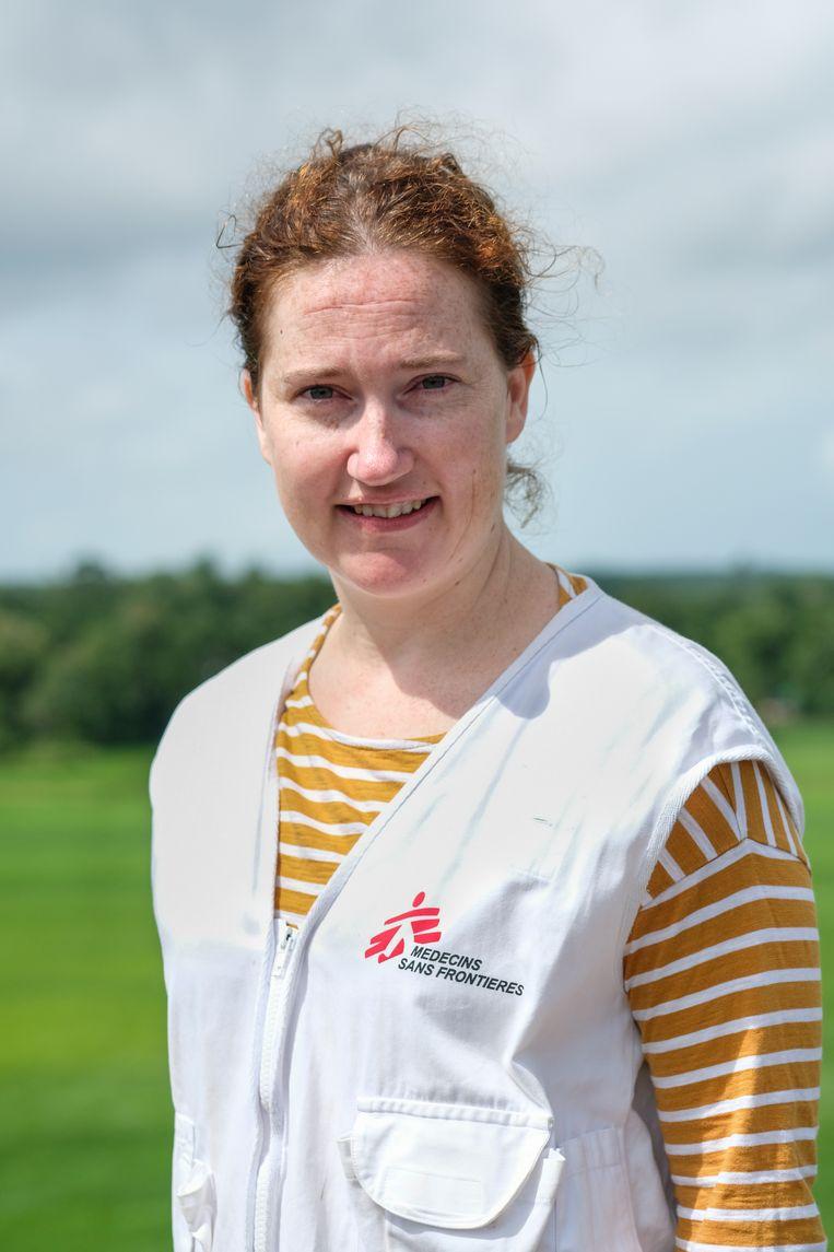Kate White, noodhulp coördinator Artsen zonder Grenzen in Tigray. Beeld Antonio Faccilongo
