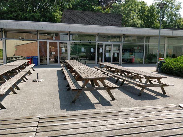 Het studentenrestaurant bleef voor de rest van de dag gesloten.
