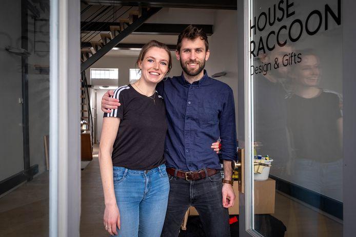 Nathan Noëth en Anneleen Durnez openen zodra het kan House Raccoon in de Guldenstraat in Mechelen.