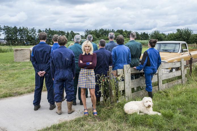 De boeren met Yvon Jaspers