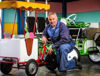 """Op bezoek bij de laatste gocartbouwer van het land (en de wereld): """"Ik zou mijn stoeltjes en stuurtjes kunnen laten maken in China, maar dat wil ik niet. Alles is 'made in Belgium'"""""""