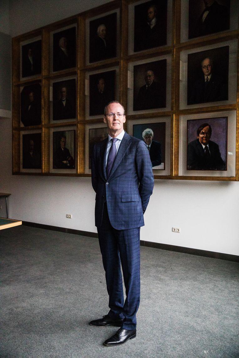 DNB-president Klaas Knot. Beeld Aurélie Geurts