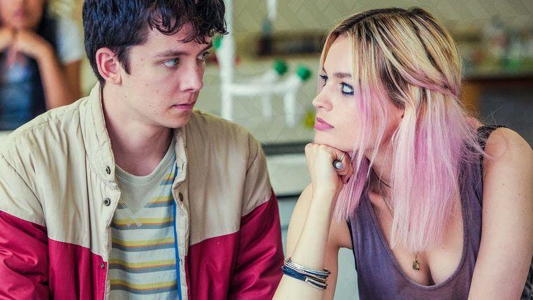 'Sex Education', te zien op Netflix. Beeld rv