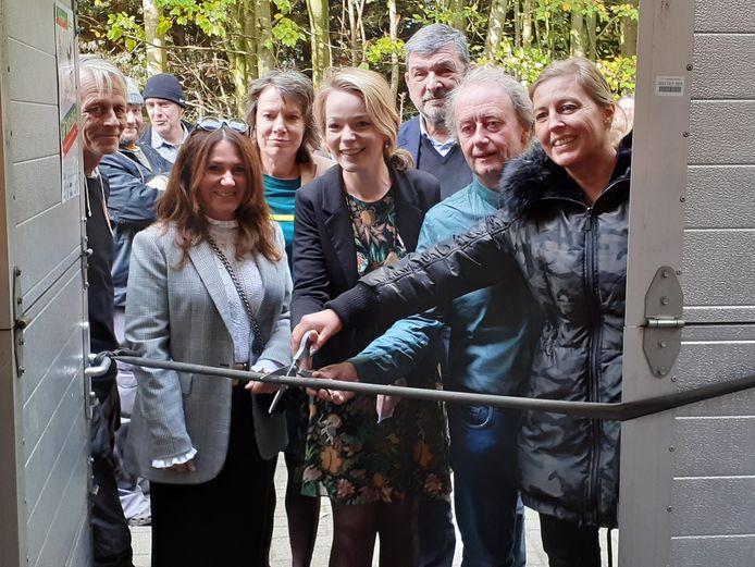 De Velotheek Op Wielekes is officieel geopend.