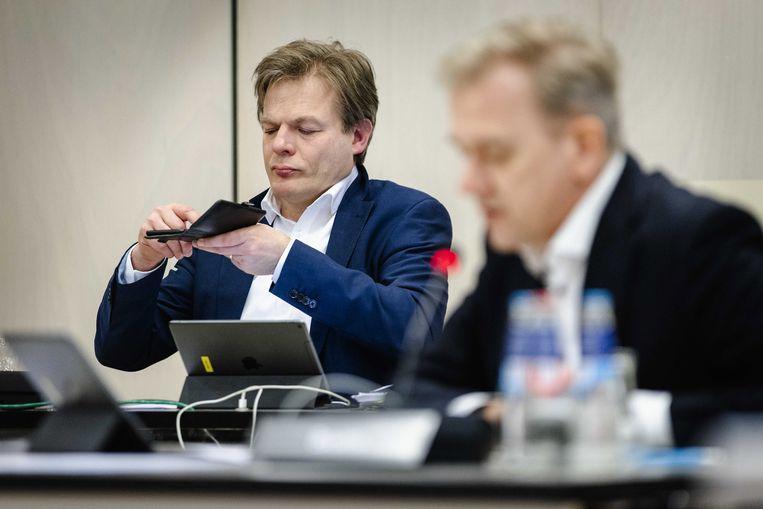 Pieter Omtzigt (links) Beeld EPA