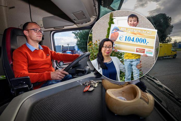Nico Heite blijft gewoon rijden op zijn melkwagen na de winst in Miljoenenjacht: 'Dit werk is veel te mooi'.